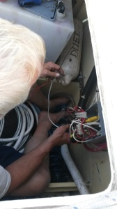 Fixing switch to electric winch