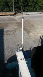 Remounting WiFi antenna