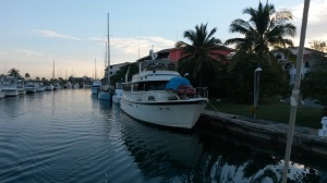 Much is said about the old cars in Havana.  Check out the one on the front of this boat in Marina Heminway!