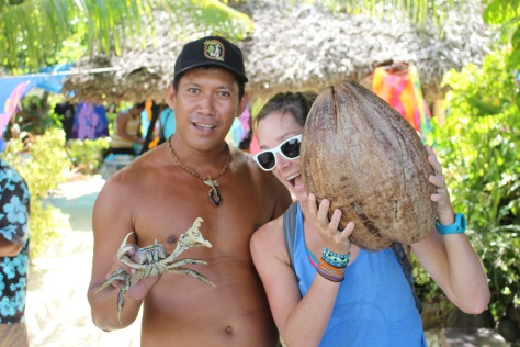 Now THAT'S a coconut! (And a coconut crab)