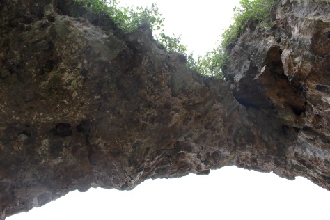 Talava arch (looking up from below)