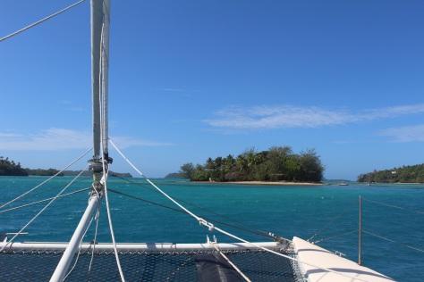 The entire little island is a well-hidden resort