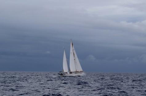 Tahawus sailing past us