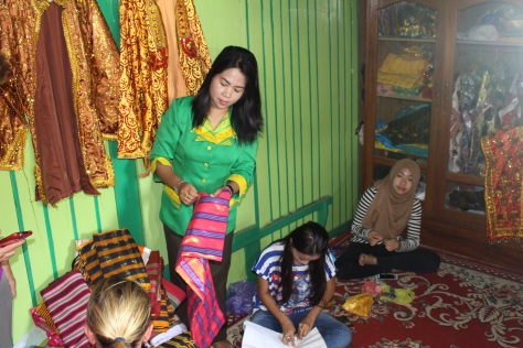 Making traditional clothing