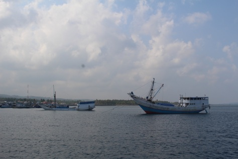 The anchorage off of Selayar