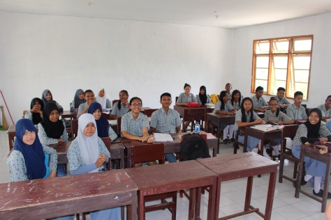 Then to the classroom