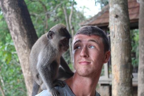 Jesse with new friend