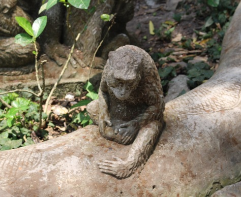 There are stone carvings everywhere, and a lot of them have sexual overtones...