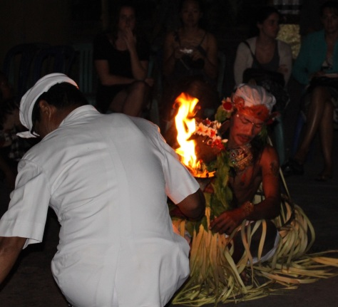As a bonus while on the fire theme, we prepare for the Trance Dance