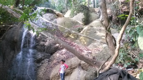 Just a small part of the waterfall