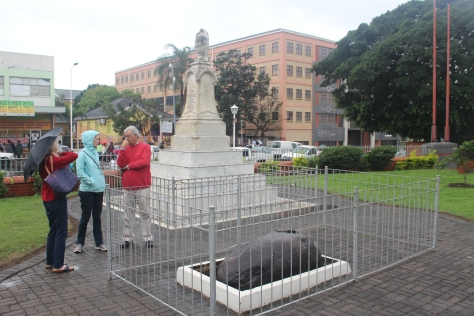 Chief Shaka's grave