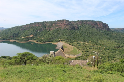 On the way back to Durban we drove through an all-Zulu township, and passed the Inanda Dam.