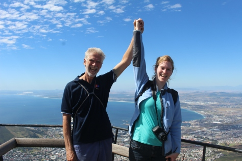 Atop Table Mountain, Cape Town