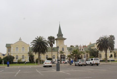 The old (no longer used) train station.