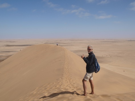 Photo courtesy of Nora, from Dune 7 in Namibia