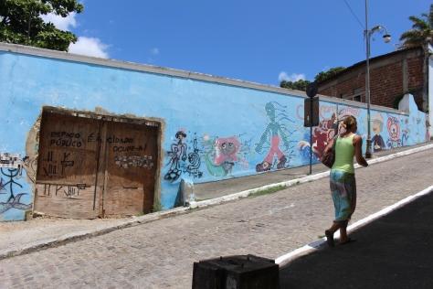 Klaudia leads the way on our exploration of Joao Pessoa