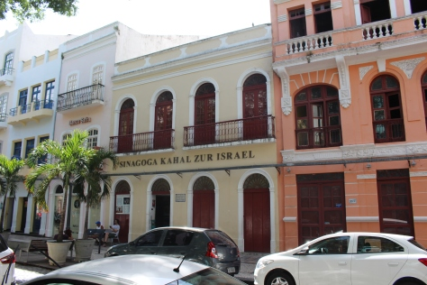Oldest synagogue in Latin America (restored)