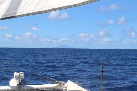Approaching Nevis