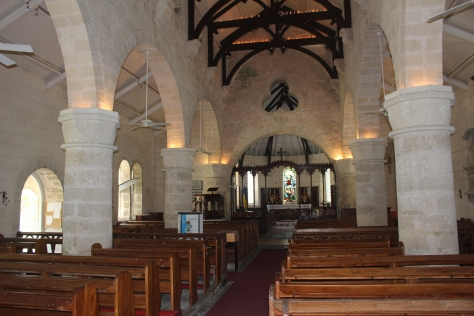 Oldest church in Barbados; start of our island tour.