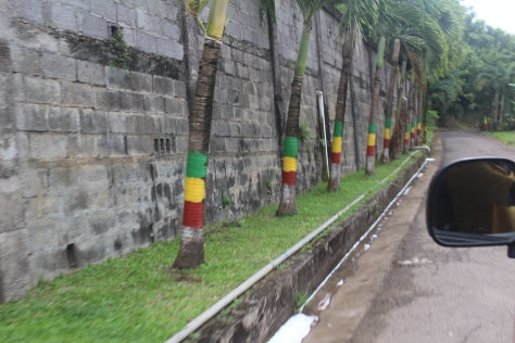 Grenada's colors are everywhere, preparing for Independence Day celebrations