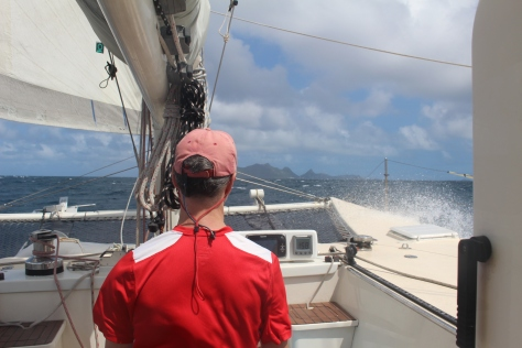 Working to windward, Grenada to Carriacou